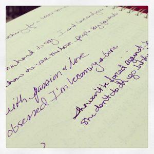 notebooklyrics